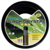 Шланг усиленный Aquapulse Black Crystal 1/2 3 слоя 20м (Италия)